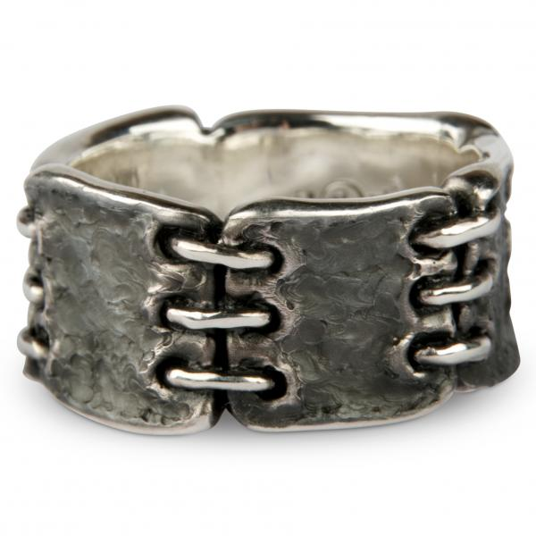 Patched For Eternity - Premium Ring, Wide Version