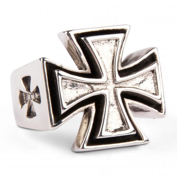 Eisernes Kreuz - Massiver Silberring