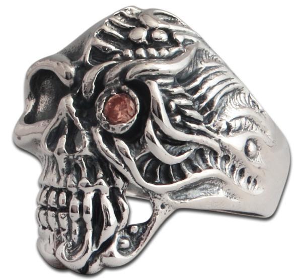 Terminator Totenkopf Ring