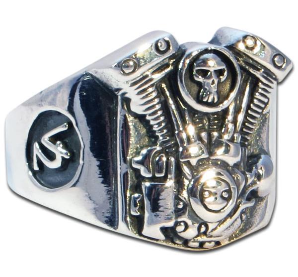 Leichter V2 Motor Biker Ring