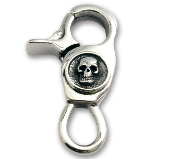 Kleiner Totenkopf Schlüsselanhänger