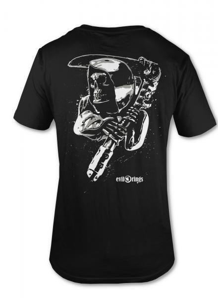 Reaper T-Shirt - doppelseitig bedruckt! 100% Baumwolle