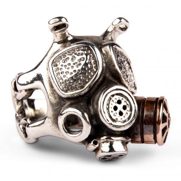 Gothic Ring - Gas Maske