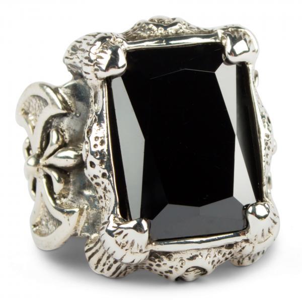 Mächtiger Drachenklauen-Ring - Schwarz