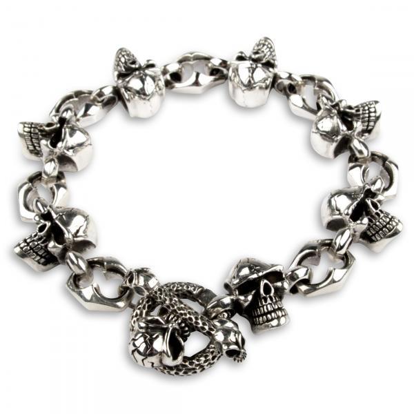 "Totenkopf Armband ""Voodoo"""