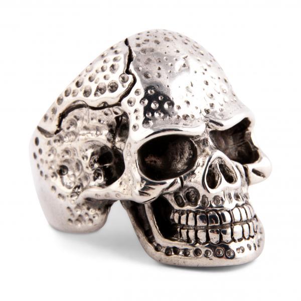 Alter Totenschädel Ring