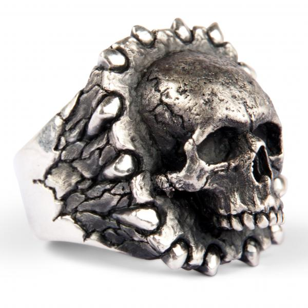 Totenkopf Siegelring