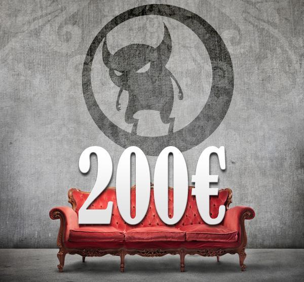 200,00 Euro Gutschein