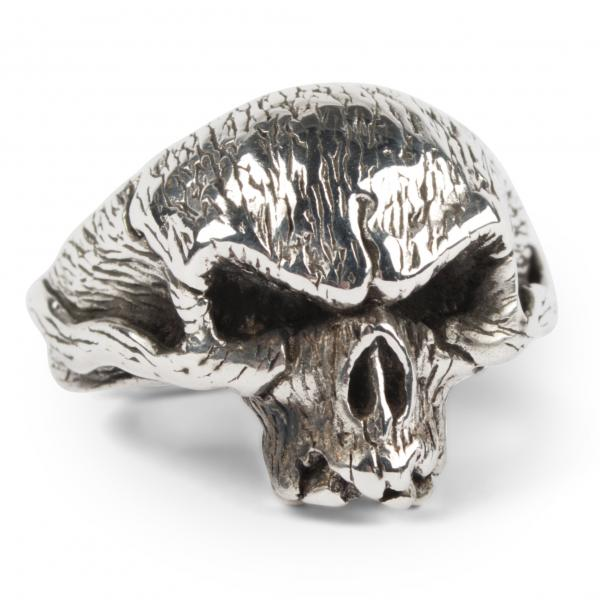 Beast Halfskull Ring aus Sterling Silber