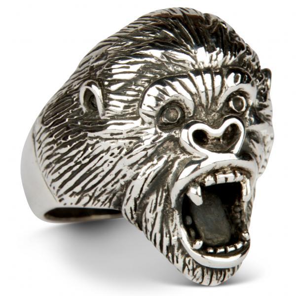 Silberrücken - Gorilla Ring