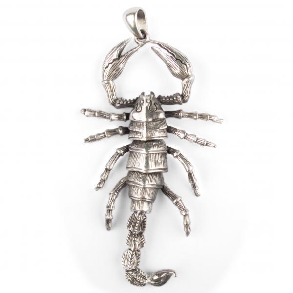 Skorpion Kettenanhänger XXL