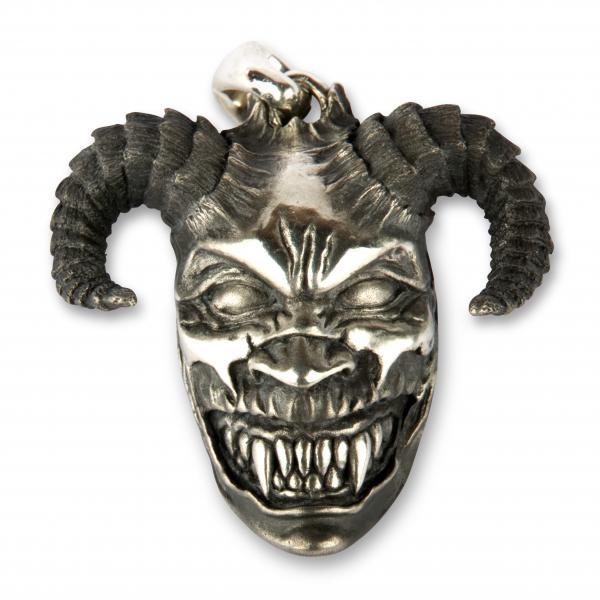 Premium Teufels-Kettenanhänger