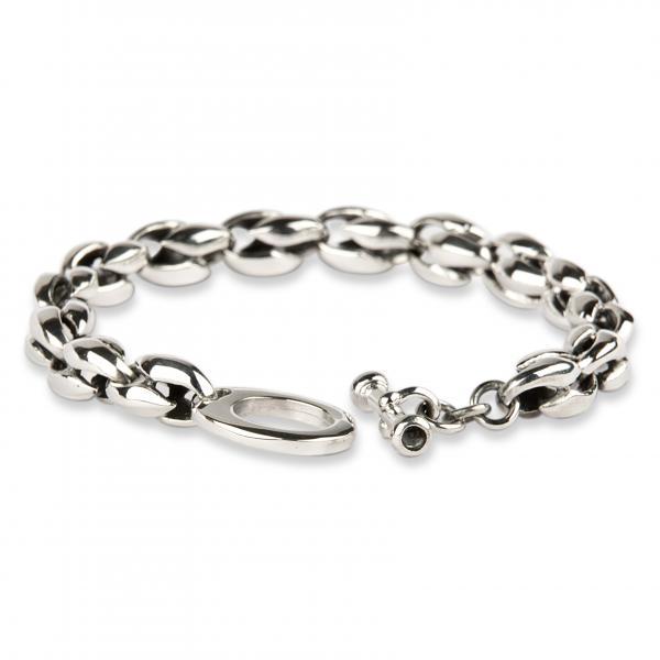 Drachentränen Silberarmband