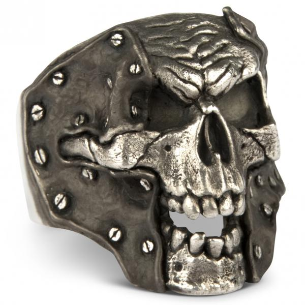 Eternal Gladiator Totenkopf Ring