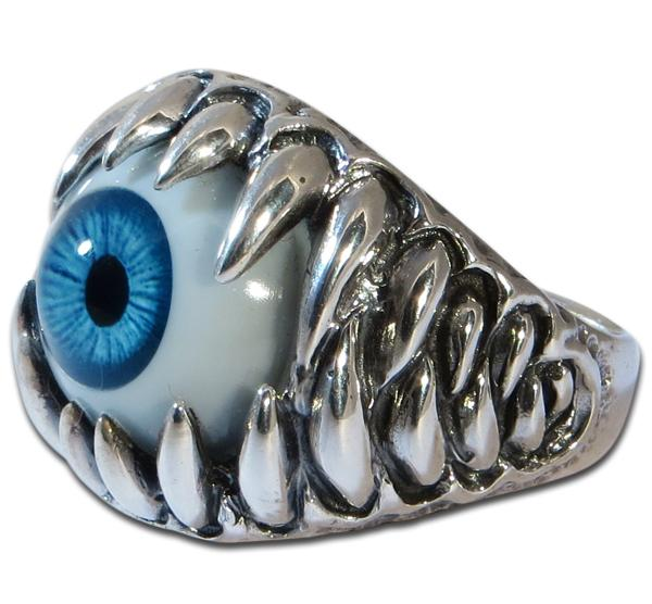 Auge des Zyklopen - Ring mit Glasauge