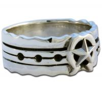 speak wordpress evil see skull ring rings and hear r no bronze